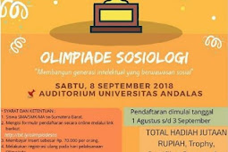 Olimpiade Sosiologi Fair II 2018