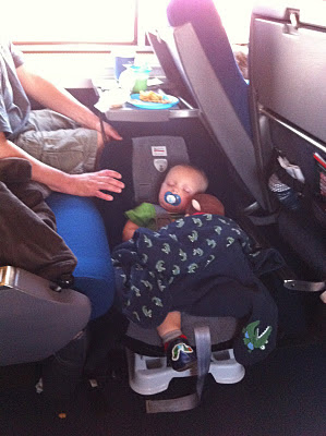 Decorating the Dorchester Way: Traveling with an infant on Amtrak