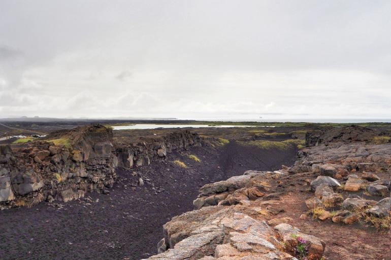 Voyage en Islande - faille Miðlína