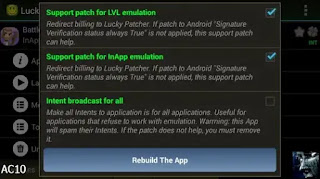 Lucky Patcher apk rebuilt for in app and LVL emulation