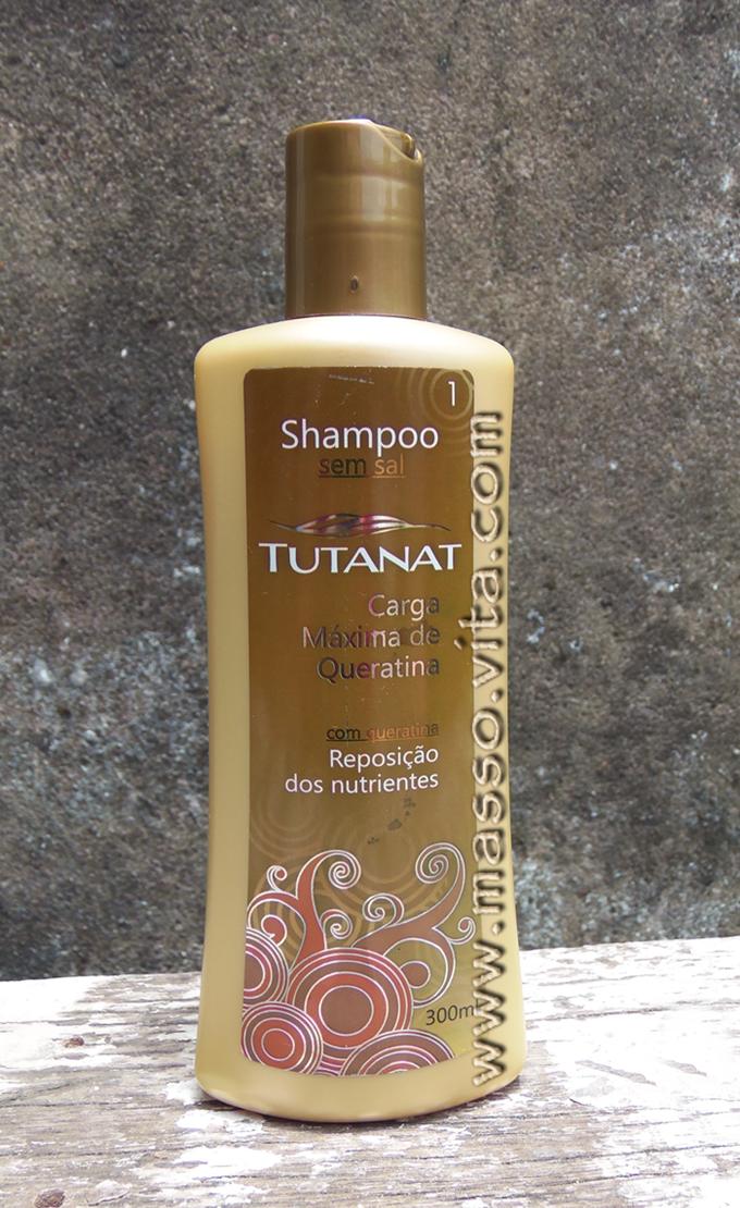 Shampoo carga máxima de queratina