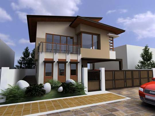 Modern Asian Exterior House Design Ideas