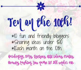 Ten on The Tenth blog hop graphic