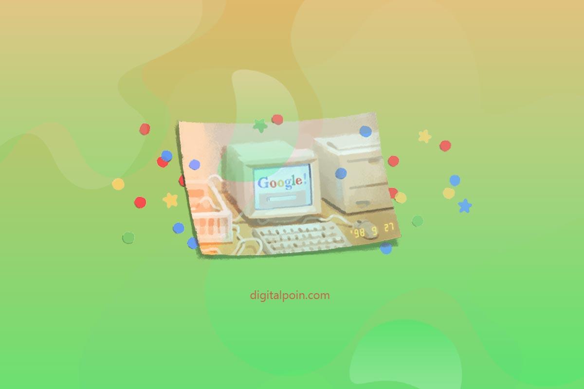 Selamat Ulang Tahun ke 21 Google!