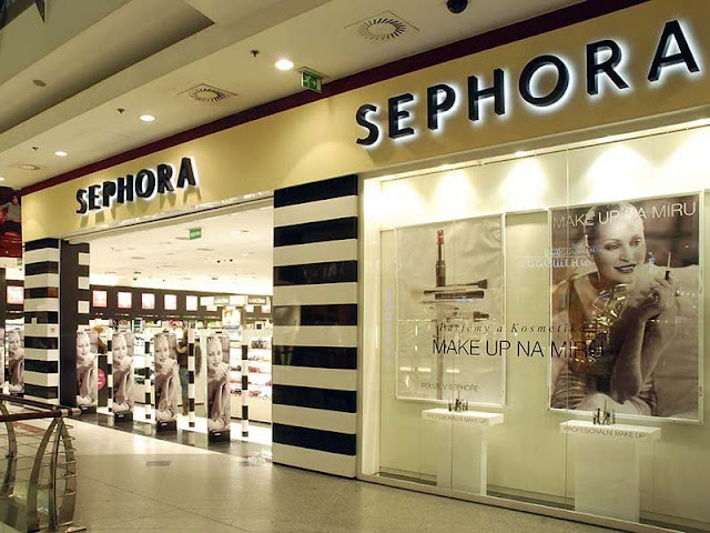 Loja Sephora em Barcelona