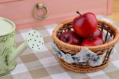 Pure de manzana la salsa de la salud