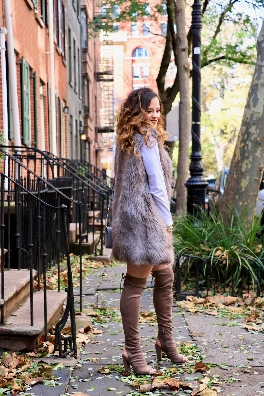 Nyc fashion blogger Kathleen Harper's fall street style