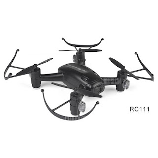 RC Leading RC 111F RC 111 Quadcopter Black