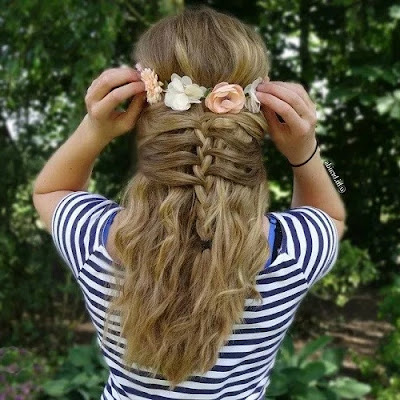 Hippie Hairstyle for Girls