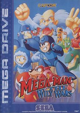 Rom de Mega Man - The Wily Wars - Mega Drive - PT-BR