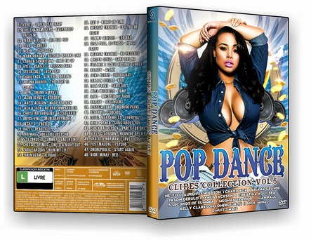 CAPA DVD – Pop Dance Clipes Collection Vol.5 – AUTORADO