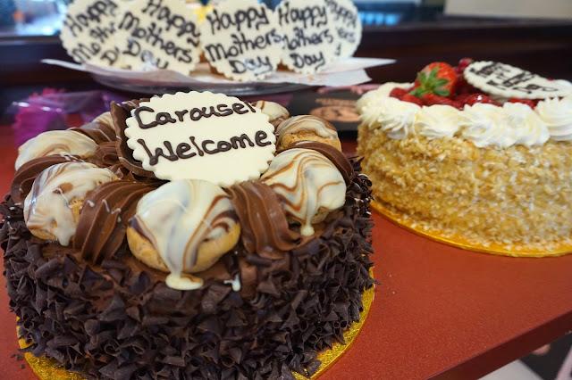 cakes from patisserie valerie