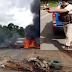 Durante protesto de caminhoneiros PM atira em manifestantes após serem ameaçados
