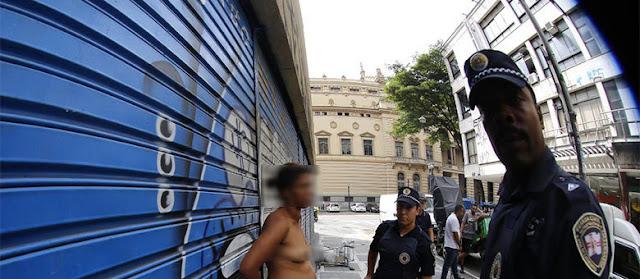 Jornalista é conduzido em São Paulo ao atrapalhar e fotografar detenção de uma ladra feita pela Guarda Civil Metropolitana