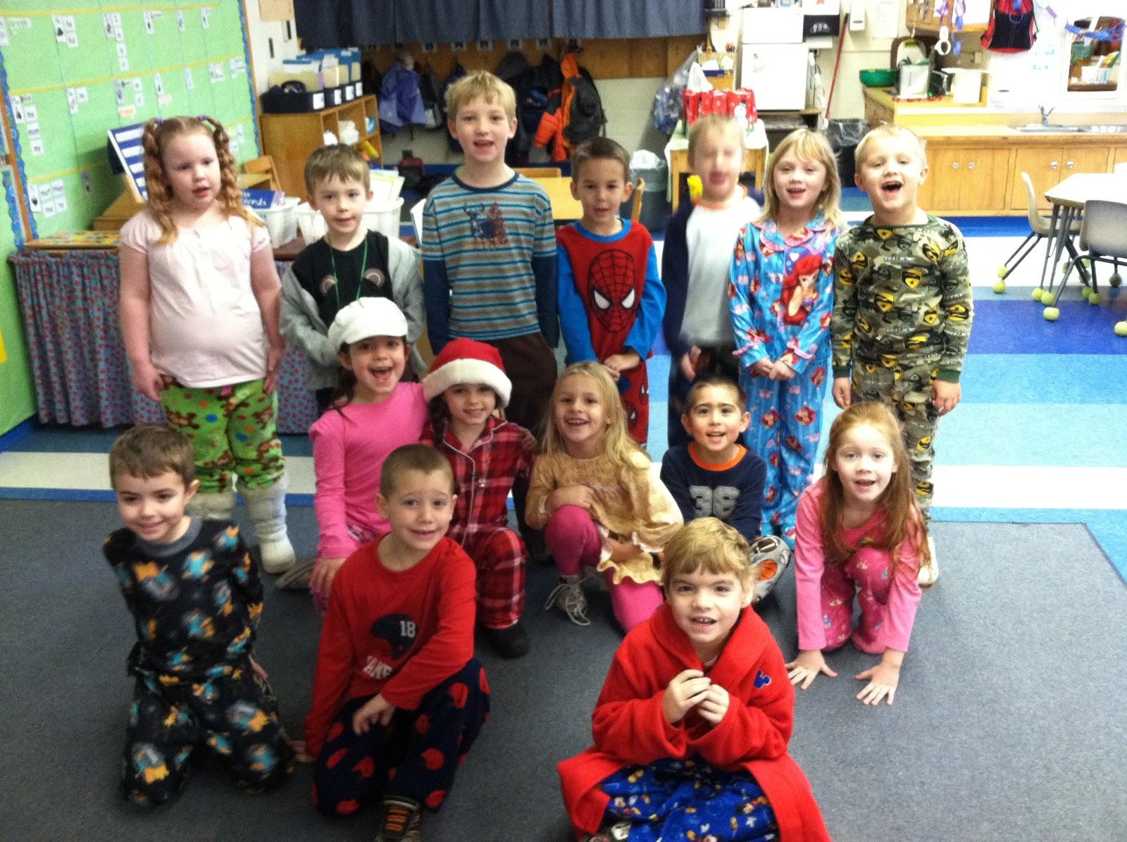 Mrs Parzych S Kindergarten Pajama Day