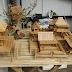 Inspirasi Peluang Bisnis Miniatur Dari Bahan Bambu dan Stik Es Krim