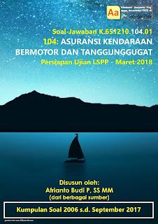 Tutorial LSPP 104 - Asuransi Kendaraan Bermotor dan Tanggunggugat - Maret 2018