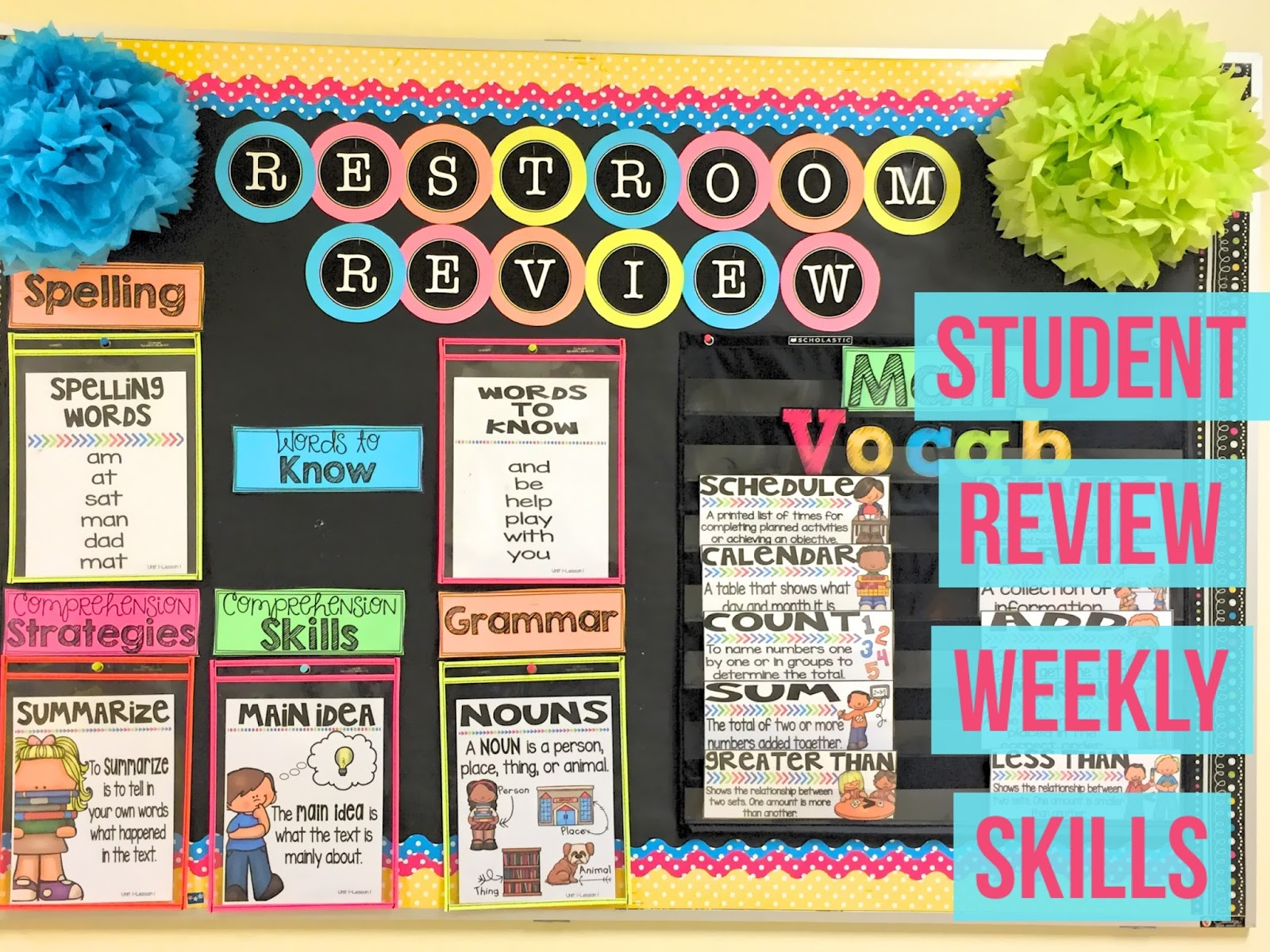 Seusstastic classroom inspirations back to school decor ideas for Back to school wall decoration