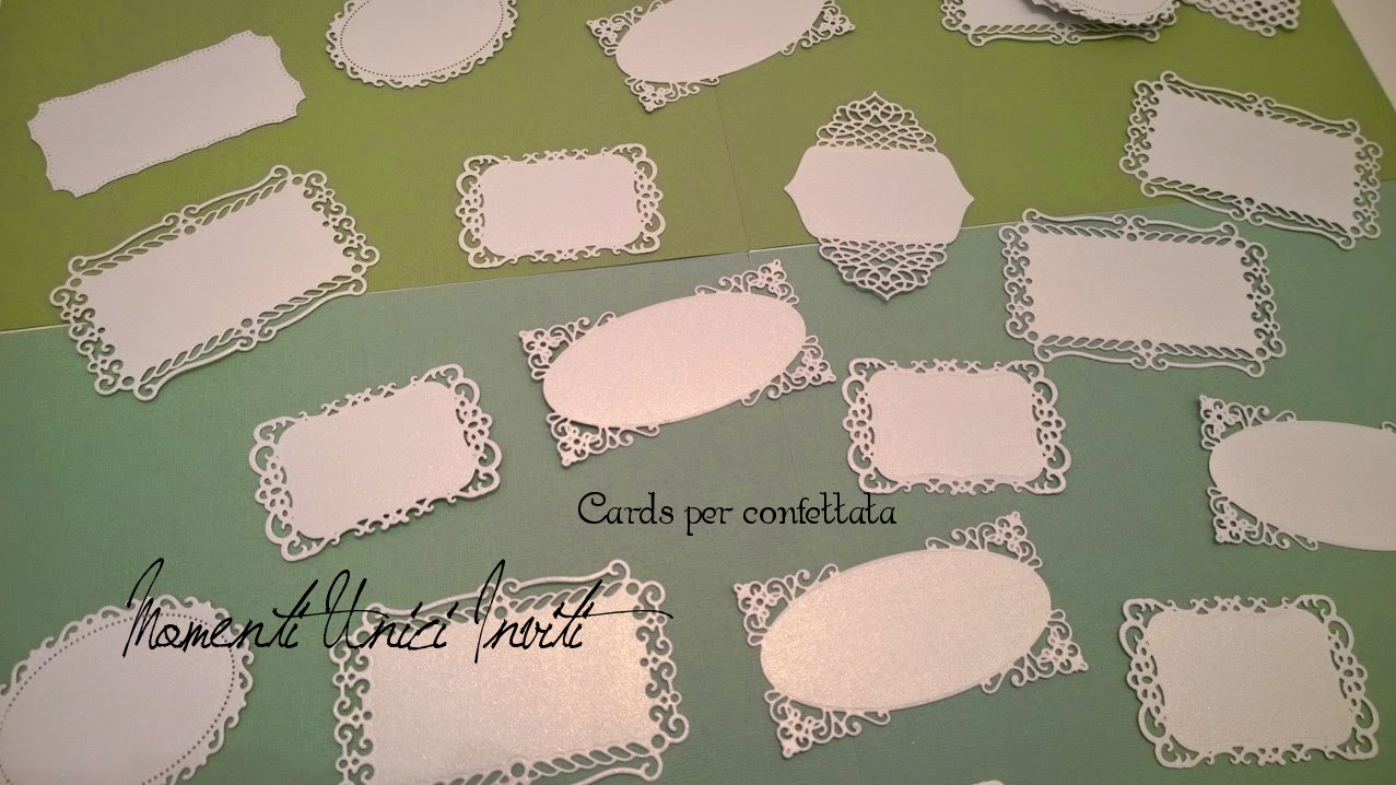 Super Libretti cerimonia, menù e cards confettata con intagli effetto  ZN89