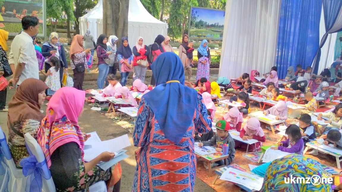 Lomba mewarnai Panmas Fair 2018