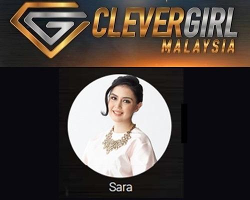 Biodata Sara Clever Girl Malaysia 2017, profile Sara, biografi, profil dan latar belakang Sara Clever Girl Malaysia TV3 2017 musim 2, foto, gambar Sara Clever Girl Malaysia musim kedua