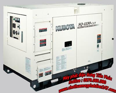 Máy phát điện Kubota 13.5kva SQ-1130-CAN
