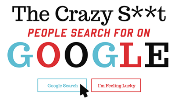 The Crazy Things That People Search On Google [Infographic]