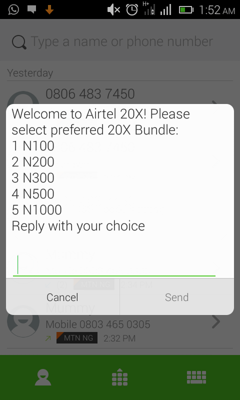 Airtel Cheat Code 2017, Get 2000% Of Your Recharge From