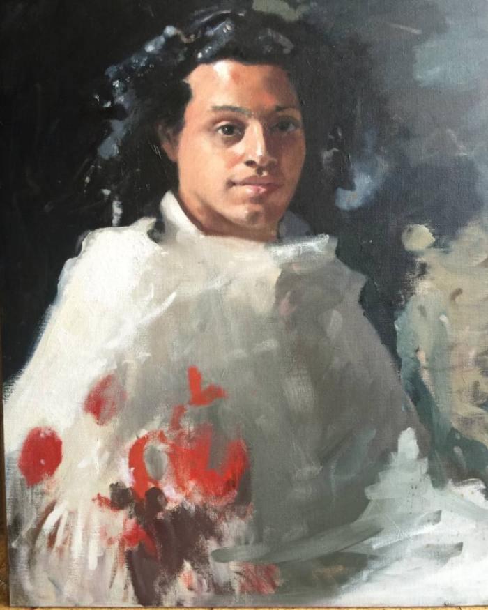 Американский художник. Dorian Allworthy