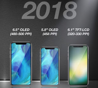 Apple to Launch 6.5-Inch 'iPhone X Plus' and Lower-Priced 6.1-Inch Full-Screen LCD Model in 2018