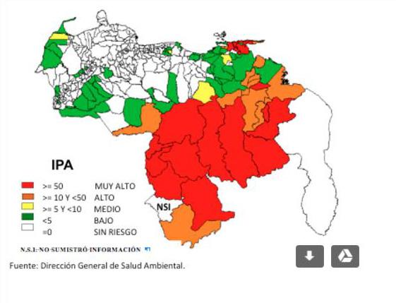 Situación de la epidemia de malaria en Venezuela, en 2017, confirma ...