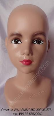 Patung Manekin Kepala Anak