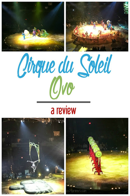 Magical, Whimsical, and Inspiring: Cirque du Soleil Ovo Review | CosmosMariners.com
