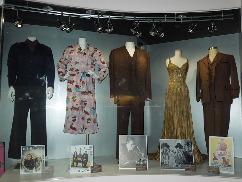 NBC Universal Experience TV movie costumes