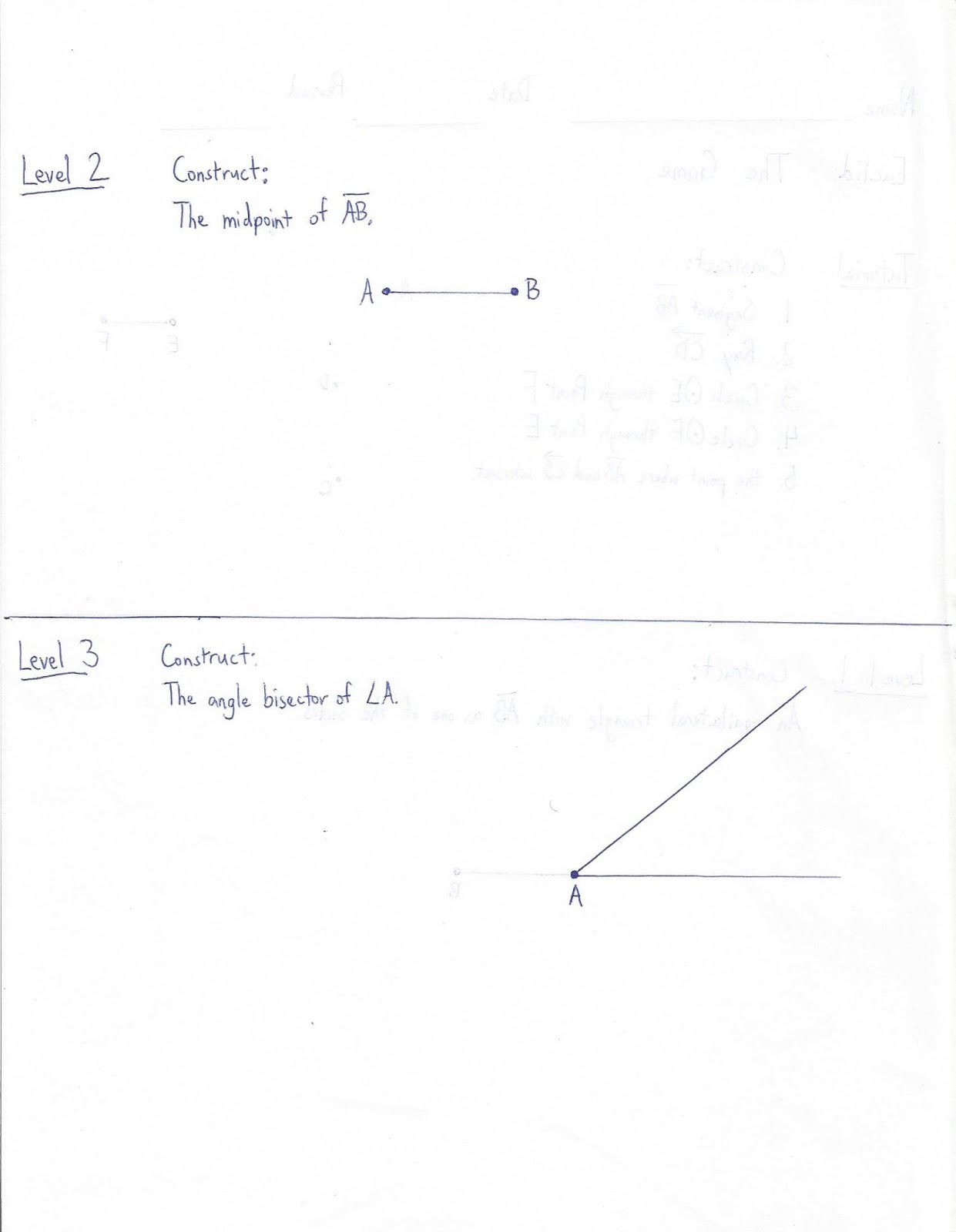 Geometry Common Core Style Lesson 4 6 Reflecting
