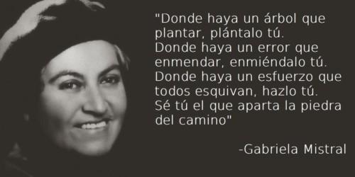 Gabriela -mistral