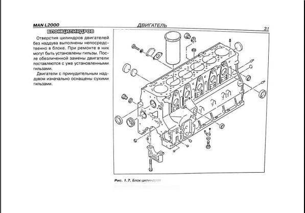Man Ebook Soft   Repair Manual  Man L2000 Repair Manual  Rus