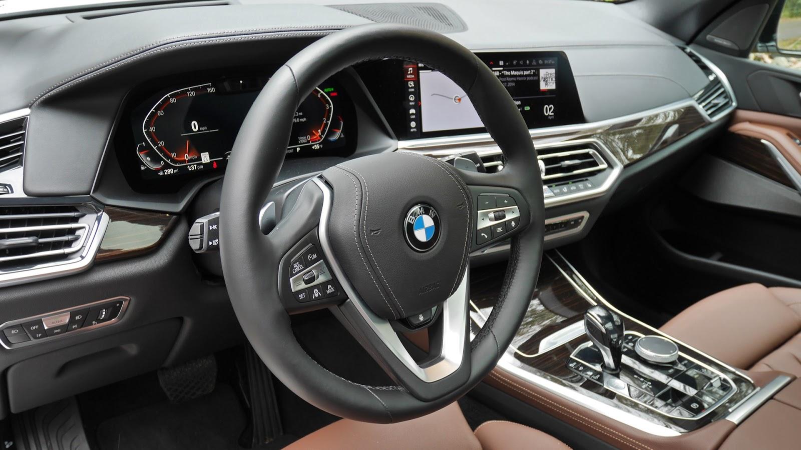 Automotiveblogz Bmw X5 Interior 2019