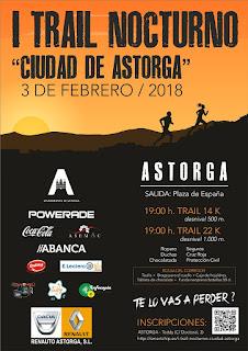 Clasificaciones Trail Nocturno Astorga
