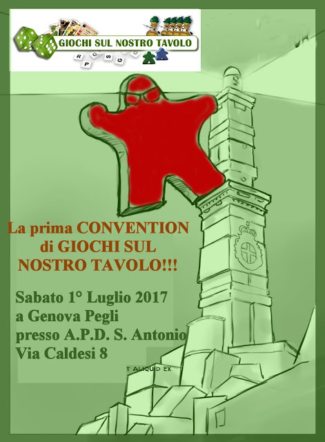 Gioca CON Giochi Sul Nostro Tavolo - 1° luglio 2017 a Genova