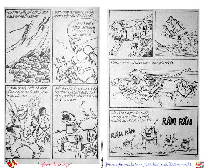 Dũng Sĩ Hesman tập 2 - hesman xuất hiện trang 6