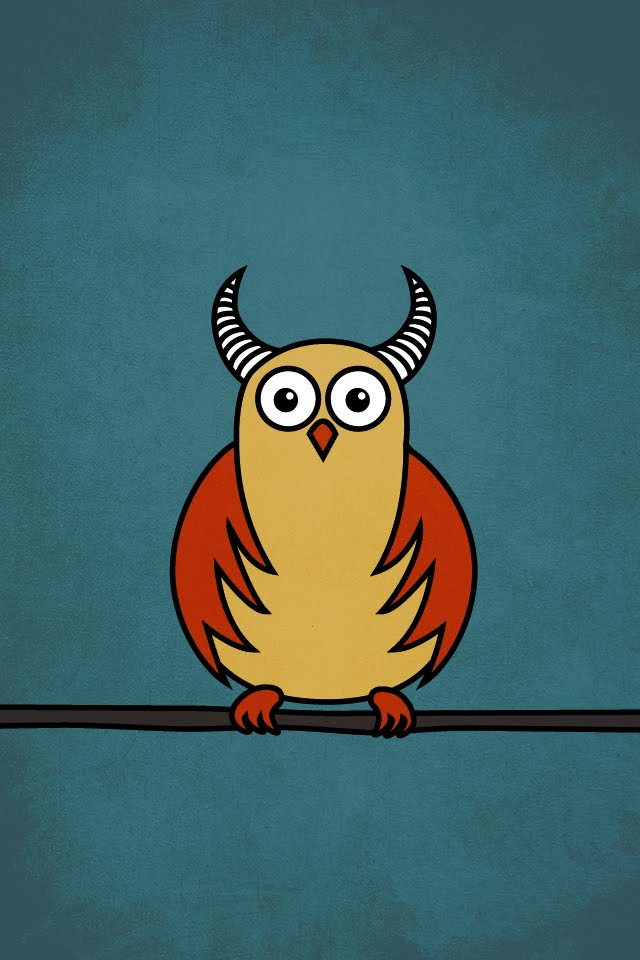 Get This Cartoon Owl Image As A Desktop Wallpaper And An IPhone