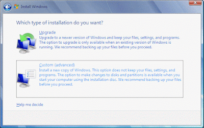 Install Windows 7 Step by Step