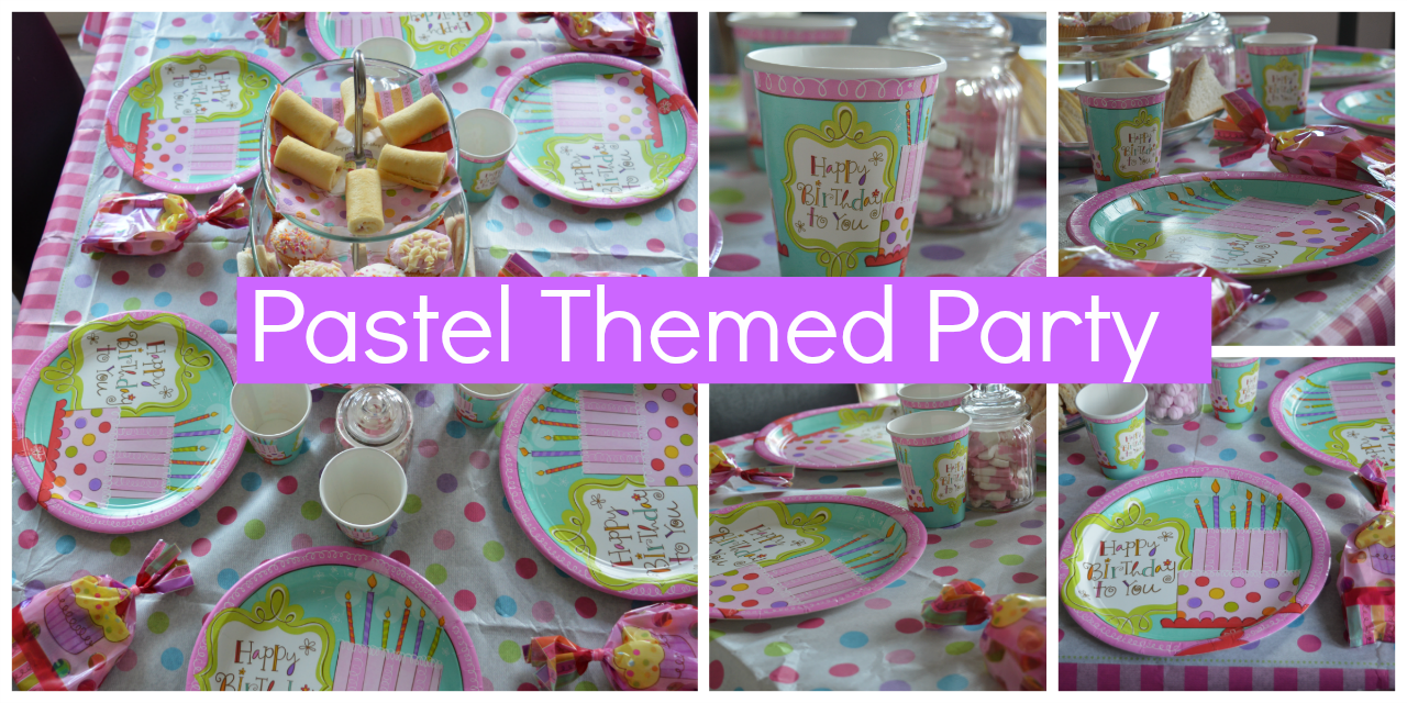 Pastel Themed Parties