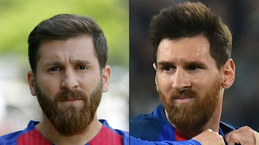 Meet the Iranian student who bears an uncanny resemblance to Lionel Messi