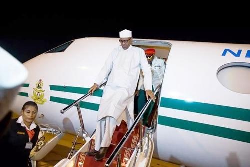 Buhari Returns to Nigeria After Vacation and Set to Embark on 3-Nation Tour of Egypt, Saudi Arabia & Qatar