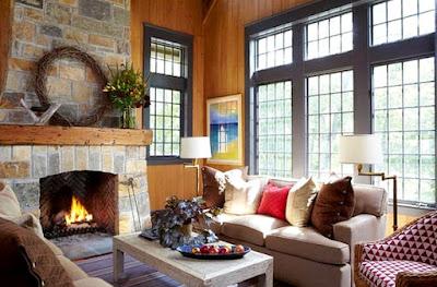 8 Ide Mendekorasi Ruang Keluarga Dengan Atap Yang Tinggi ! -  Jendela Besar