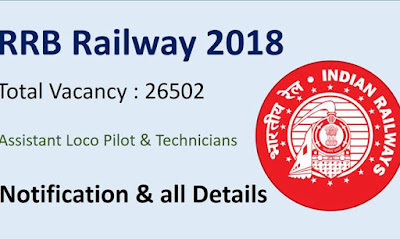Railway Recruitment 2018, hindi,