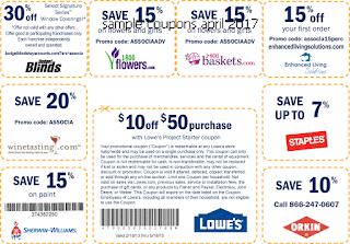Home Depot coupons april