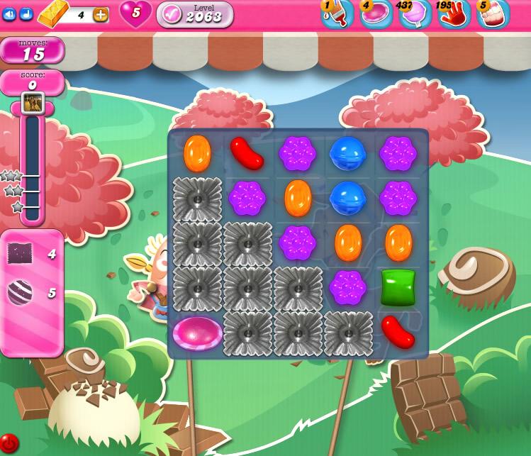 Candy Crush Saga level 2063